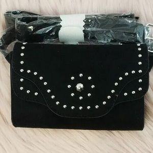 Torrid faux suede belt bag fanny pack 14/16